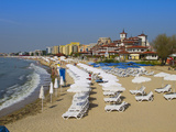 Main Beach, Sveti Vlas, Black Sea Coast, Bulgaria, Europe Photographic Print by Dallas & John Heaton