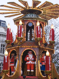 The Annual Frankfurt Christmas Market, Birmingham, West Midlands, England, United Kingdom, Europe Photographic Print by Ethel Davies