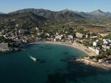 Playa De Peguera, Mallorca, Balearic Islands, Spain, Mediterranean, Europe Fotografisk tryk af Hans-Peter Merten