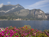 View of Lake Looking Towards Cadenabbia, Bellagio, Lake Como, Lombardy, Italian Lakes, Italy, Europ Photographic Print by Frank Fell