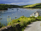 Estuary of the River Avon, Bantham, Bigbury on Sea, Devon, England, United Kingdom, Europe Photographic Print by David Hughes