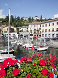 Town and Harbour, Menaggio, Lake Como, Lombardy, Italian Lakes, Italy, Europe Photographic Print by Frank Fell
