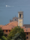 Church Belltower, Sulzano, Lake Iseo, Lombardy, Italian Lakes, Italy, Europe Photographic Print by Frank Fell