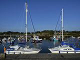 Old Town Quay, Lymington, Hampshire, England, United Kingdom, Europe Photographic Print by David Hughes