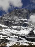 Eiger North Face, Bernese Alps, Bernese Oberland, Swiss Alps, Switzerland, Europe Photographic Print by Hans-Peter Merten