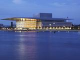 The Opera House at Dusk, Copenhagen, Denmark, Scandinavia, Europe Photographic Print by Frank Fell