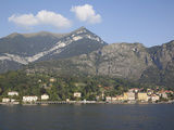 View of the Town of Cadenabbia from Ferry, Lake Como, Lombardy, Italian Lakes, Italy, Europe Photographic Print by Frank Fell