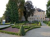 Schengen Castle, Schengen, Mosel Valley, Luxembourg, Europe Photographic Print by Hans-Peter Merten