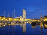 Swansea Marina, Swansea, West Glamorgan, South Wales, Wales, United Kingdom, Europe Photographic Print by Billy Stock