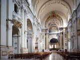 Interior of the Cathedral San Pietro, Bologna, Emilia Romagna, Italy, Europe Photographic Print by Frank Fell