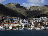 The Town of Pothia Seen from the Sea, Kalymnos Island, Dodecanese, Greek Islands, Greece, Europe Photographic Print by David Pickford