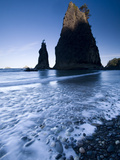 Rialto Beach, Olympic National Park, UNESCO World Heritage Site, Washington State, United States of Photographic Print by Colin Brynn