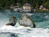 Rhine Falls, Schaffhausen, Switzerland, Europe Photographic Print by Hans-Peter Merten