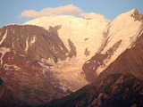 Mont Blanc Mountain Range and Bionnassay Glacier, St. Gervais, Haute-Savoie, French Alps, France, E Photographic Print by  Godong