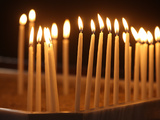 Candles, Armenian Patriarchate Church, Istanbul, Turkey, Europe Fotografie-Druck von  Godong