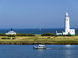 Lighthouse at Hurst Castle, Keyhaven, Hampshire, England, United Kingdom, Europe Photographic Print by David Hughes