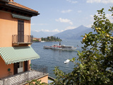 Paddlesteamer on Lake Como, Menaggio, Lombardy, Italian Lakes, Italy, Europe Photographic Print by Frank Fell