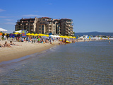 South Sunny Beach, Beachside Resorts, Black Sea Coast, Bulgaria, Europe Photographic Print by Dallas & John Heaton