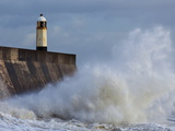 Harbour Light, Porthcawl, South Wales, Wales, United Kingdom, Europe Photographic Print by Billy Stock