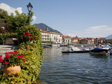 Town and Lakeside, Menaggio, Lake Como, Lombardy, Italian Lakes, Italy, Europe Photographic Print by Frank Fell