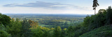 View South from Holmbury Hill Towards the South Downs, Surrey Hills, Surrey, England, United Kingdo Photographic Print by John Miller