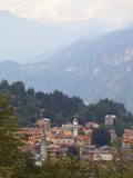View of Mountain Village of Civenna, Bellagio, Lake Como, Lombardy, Italy, Europe Photographic Print by Frank Fell