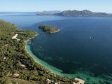 Playa Formentor and Hotel Formentor, Mallorca, Balearic Islands, Spain, Mediterranean, Europe Photographic Print by Hans-Peter Merten