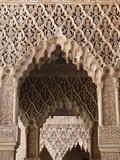 Palacio De Los Leones, Nasrid Palaces, Alhambra, UNESCO World Heritage Site, Granada, Andalucia, Sp Photographic Print by  Godong