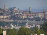 Skyline, Bergamo, Lombardy, Italy, Europe Photographic Print by Frank Fell