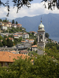Lakeside Village, Lake Como, Lombardy, Italian Lakes, Italy, Europe Photographic Print by Frank Fell