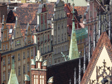 Old Town View from Marii Magdaleny Church, Wroclaw, Silesia, Poland, Europe Photographic Print by Frank Fell