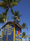 Watersports Hut, Bavaro Beach, Punta Cana, Dominican Republic, West Indies, Caribbean, Central Amer Photographie par Frank Fell
