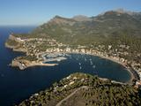 Port De Soller, Mallorca, Balearic Islands, Spain, Mediterranean, Europe Fotografisk tryk af Hans-Peter Merten