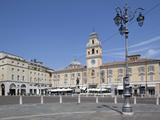 Piazza Garibaldi and Palazzo Del Govenatore, Parma, Emilia Romagna, Italy, Europe Photographic Print by Frank Fell