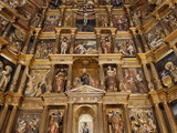 Church Reredos, Real Monasterio De San Jeronimo, Granada, Andalucia, Spain, Europe Photographic Print by  Godong