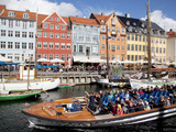 Nyhavn, Copenhagen, Denmark, Scandinavia, Europe Photographic Print by Frank Fell