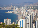 Benidorm, Alicante Province, Spain, Mediterranean, Europe Photographie par Billy Stock