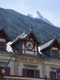 The Train Station, Chamonix, Haute Savoie, French Alps, France, Europe Photographic Print by Angelo Cavalli