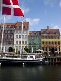 Nyhavn, Copenhagen, Denmark, Scandinavia, Europe Fotodruck von Frank Fell
