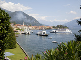 Boats on Lake Como, Menaggio, Lombardy, Italian Lakes, Italy, Europe Photographic Print by Frank Fell
