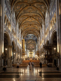 Interior of the Duomo (Cathedral), Parma, Emilia Romagna, Italy, Europe Photographic Print by Frank Fell