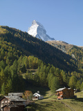 Matterhorn, Zermatt, Valais, Swiss Alps, Switzerland, Europe Photographic Print by Angelo Cavalli