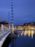 Harbour Bridge at Dusk, Torquay, Devon, England, United Kingdom, Europe Photographic Print by Stuart Black