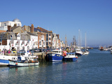 Old Town and Harbour, Weymouth, Dorset, England, United Kingdom, Europe Photographic Print by Jeremy Lightfoot