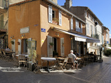 Back Street Restaurants, St. Tropez, Var, Provence, Cote D&#39;Azur, France, Europe Photographic Print by Peter Richardson