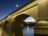 London Bridge in the Late Evening, Havasu, Arizona, United States of America, North America Photographic Print by Richard Maschmeyer