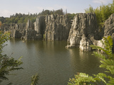 Stone Forest, Lunan Yi, Kunming, Yunnan, China Photographic Print by Rolf Richardson