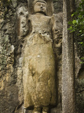 The 11 Meter Tall Unfinished Statue of Buddha at the 1st Century BC Dowa (Dhowa) Temple on the Road Photographic Print by Rob Francis