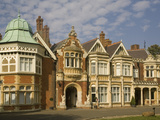 The Mansion, Bletchley Park, the World War Ii Code-Breaking Centre, Buckinghamshire, England, Unite Photographic Print by Rolf Richardson