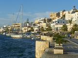 The Chora (Hora), Naxos, Cyclades Islands, Greek Islands, Aegean Sea, Greece, Europe Photographic Print by  Tuul